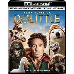 Dolittle [4K Ultra HD + Blu-ray]