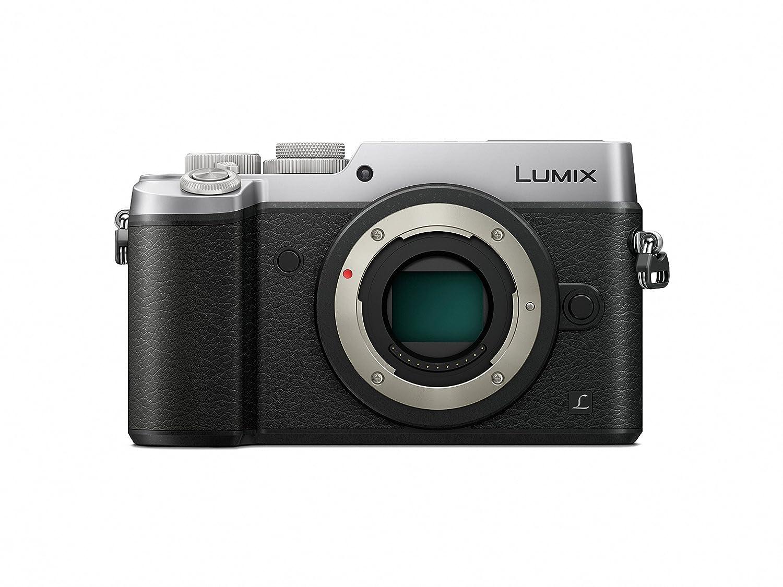 Panasonic LUMIX DMC-GX8SBODY DSLM Mirrorless 4K Camera Body Only, Dual Image Stabilization (Silver)