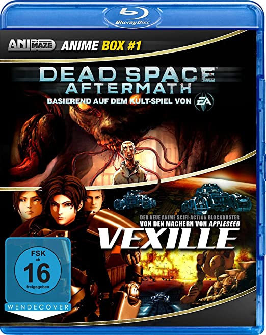 Dead Space: Aftermath / Vexille, Blu-ray