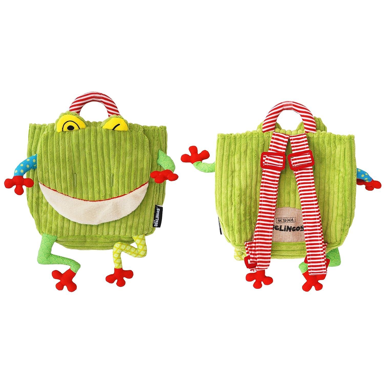 The Deglingos Croakos the Frog Backpack