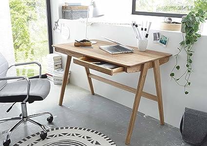 Schreibtisch, Burotisch, Arbeitstisch, PC-Tisch, Arbeitsplatz, Computertisch, Buro-Arbeitsplatz, Asteiche massiv geölt