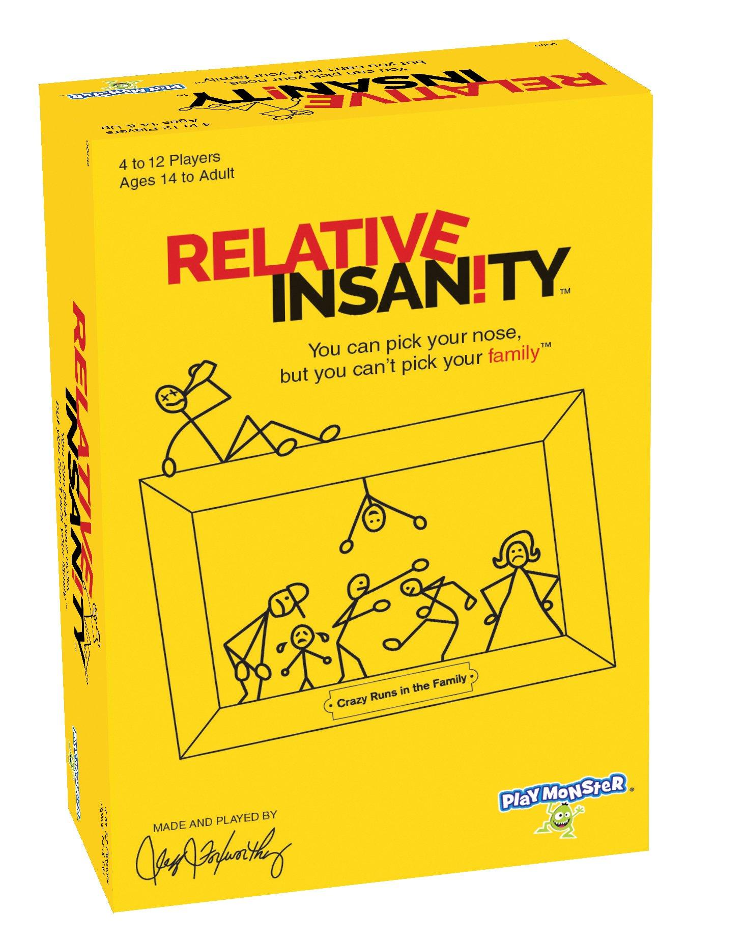 Buy Relative Insanity Now!