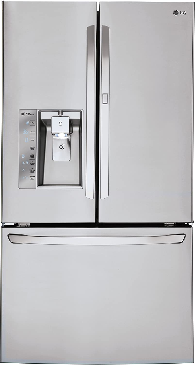 LG LFXS30766S 30.0 Cu. Ft. Stainless Steel French Door Refrigerator - Energy Star