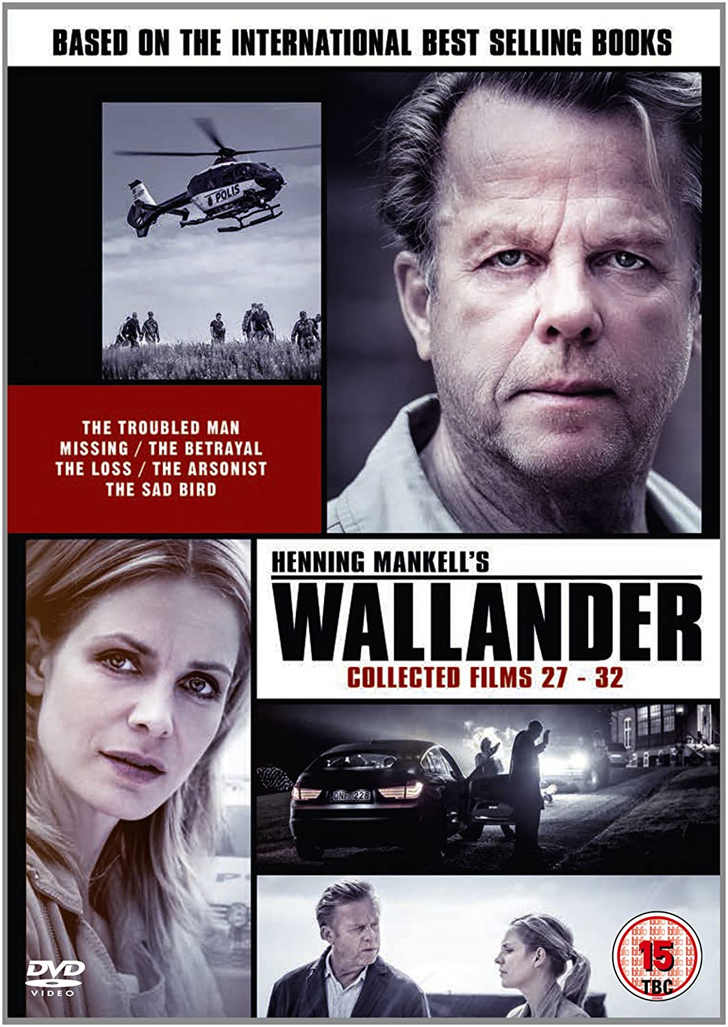 Wallander: Collected Films 27-32 (UK link)