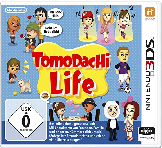 Tomodachi Life, 3DS