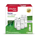 Playtex Baby Nurser Baby Bottle with Drop-Ins Disposable Liners, Closer to Breastfeeding, Gift Set (Tamaño: Gift Set)