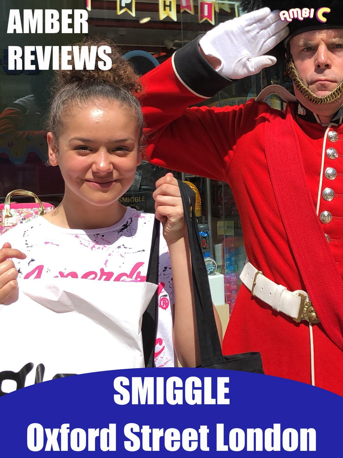 Amber Reviews Smiggle Oxford Street London