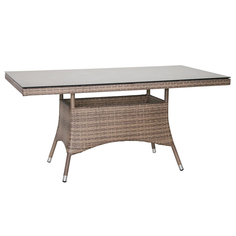 Greemotion Tisch Rattan Garda, Mehrfarbig, ca.160 x 90 x 75 cm jetzt kaufen