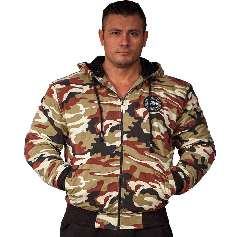 BIG SAM SPORTSWEAR COMPANY Camouflage KAPUZENJACKE Jacke Winterjacke Bomberjacke *4062* jetzt bestellen