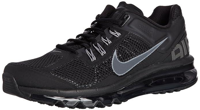 ... Nike Air Max 2010 Mens Running Shoe Black White Pink Gray ...