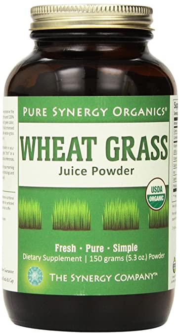 Pure Synergy ORGANIC WHEAT GRASS JUICE POWDER