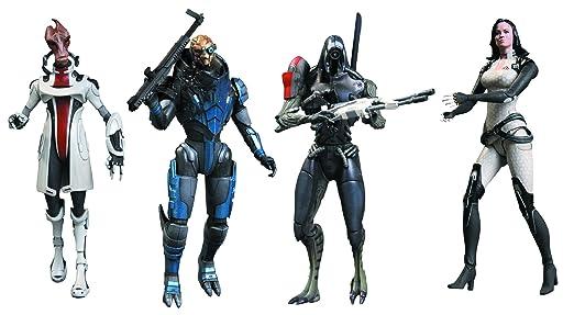 Mass Effect Figures Series 3 Mass Effect 3 Series 2 Action