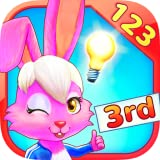 Wonder Bunny Math Race: 3rd Grade App for Numbers, Addition, Subtraction, Multiplication, Division, Fractions and Equations