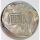 ES 1598-1621 AD Spain Antique Silver Spanish Coin 8 Reales XF-45 NGC
