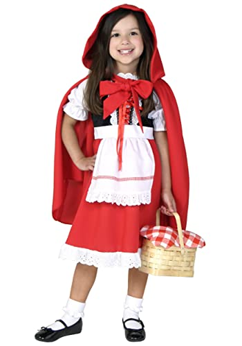 Big Girls' Deluxe Little Red Riding Hood Costume