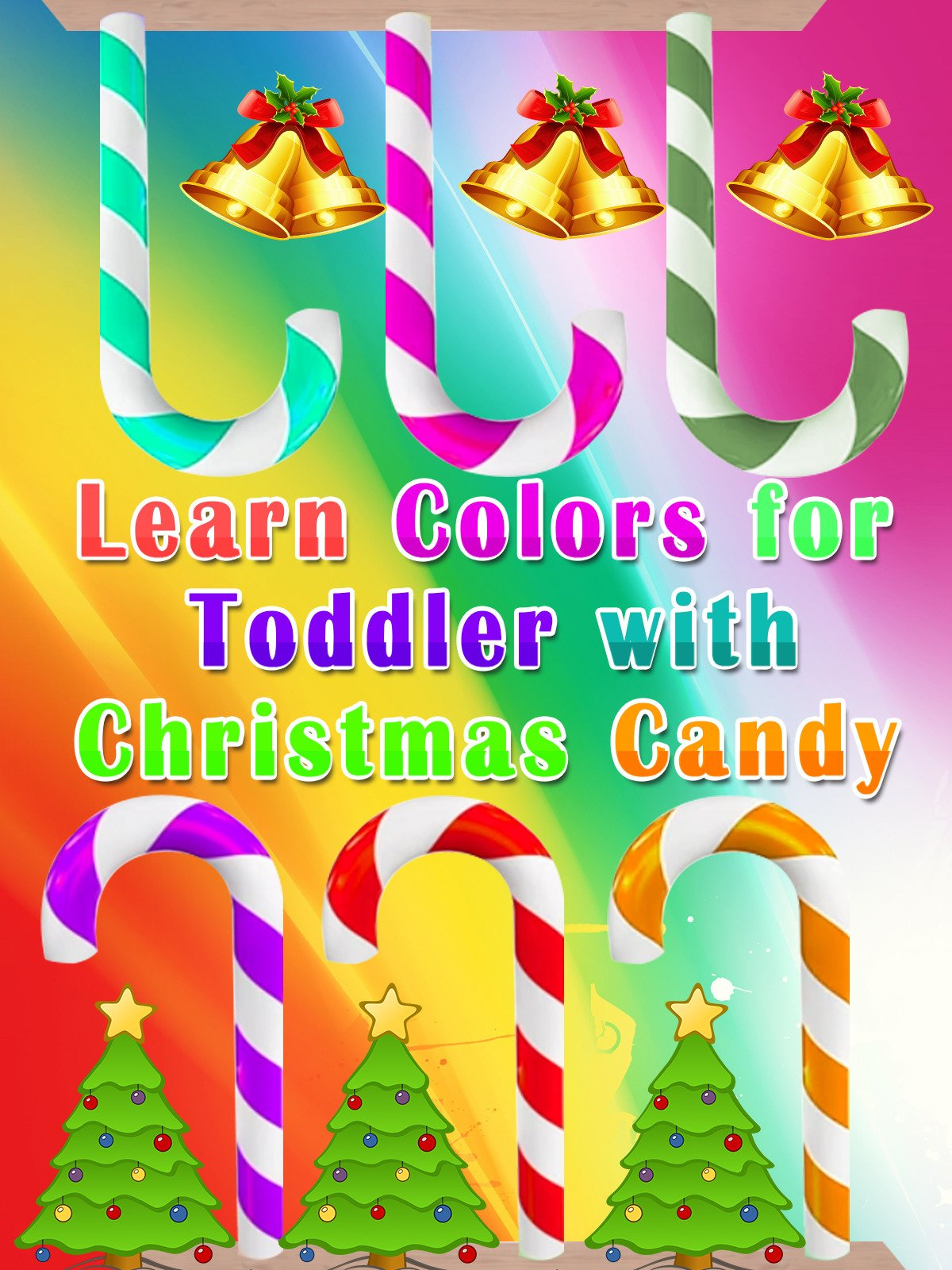 Learn Colors for Toddler with Christmas Candy