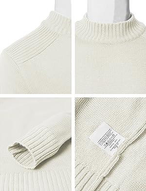 H2H Mens Sweater,Haoricu Autumn Winter Mens Elegant Long