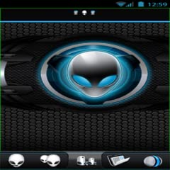 Alienware Blue HD Theme