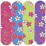Fun Express Girlie Mini Emery Boards (1 Dozen) - Bulk (Color: pink, purple)