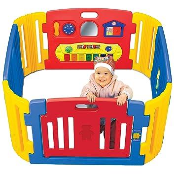 Friendly Toys Little Playzone con luci e suoni elettrici, 8 pezzi