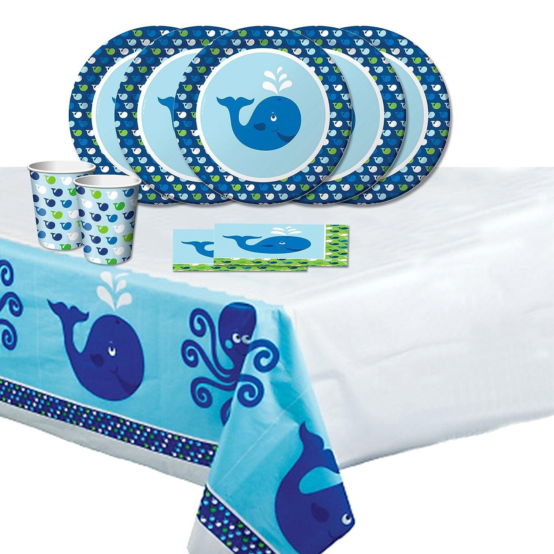 Ocean Preppy Baby Shower Party Decorations