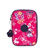 Kipling Disney's Minnie Mouse and Mickey Mouse 100 Pens Printed Case Doodle Pink (Color: Doodle Pink, Tamaño: One Size)