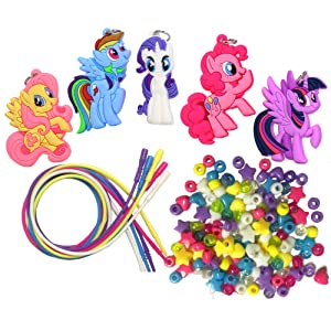 My Little Pony My Little Pony Necklace Activity Set (Color: My Little Pony, Tamaño: Basic)