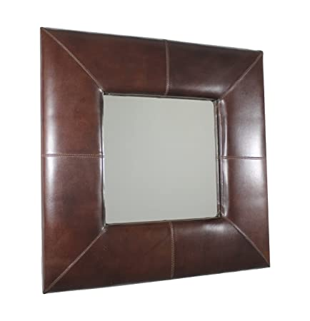 Garcia REQUEJO Delhi – Leather Wall Mirror, Body, Brown
