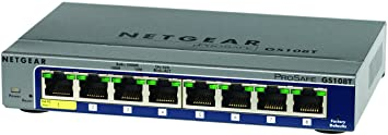 Netgear PROSAFE 8X 10/100/1000 SMART MANAGED GIGABIT SWITCH, 1577387 (MANAGED GIGABIT SWITCH)