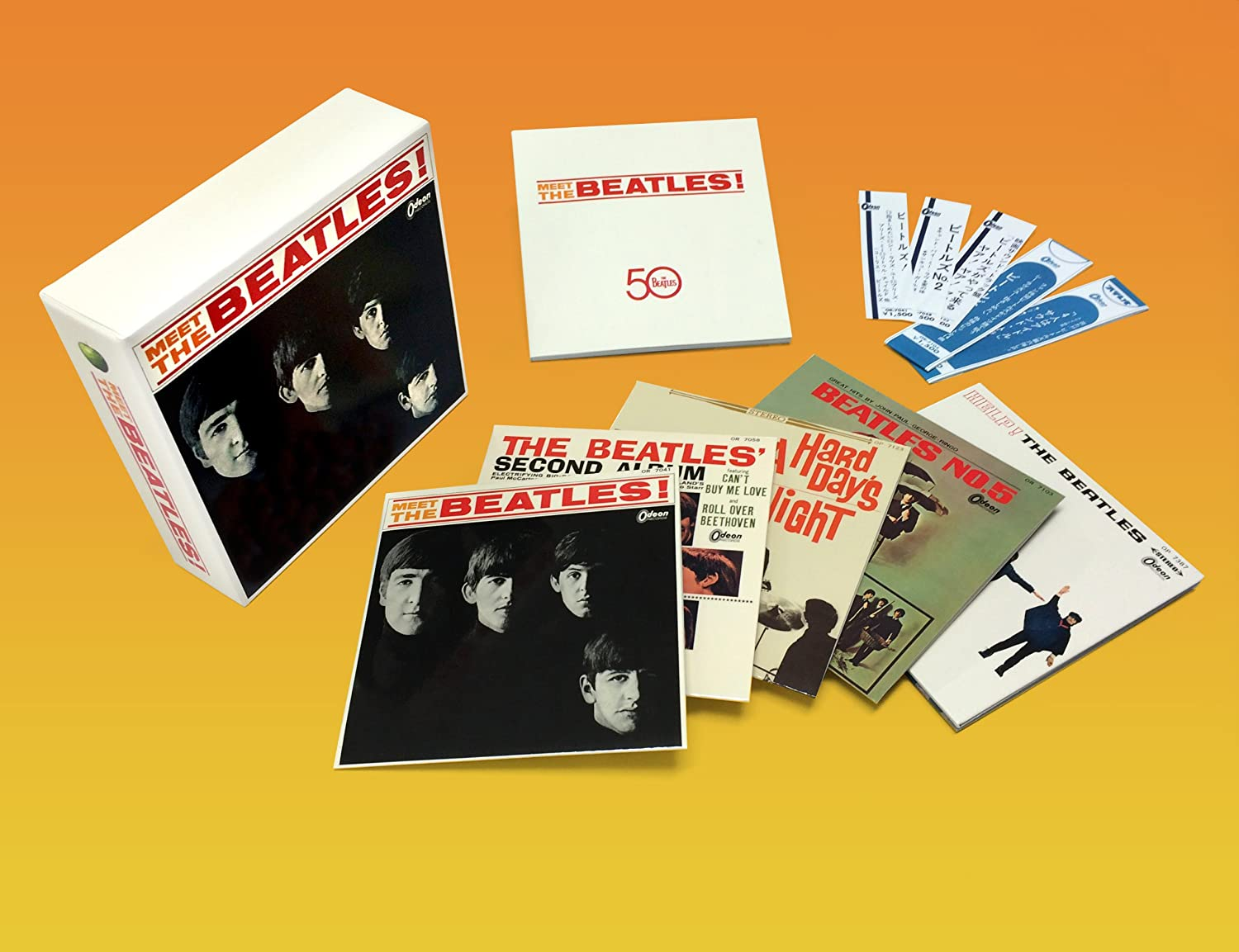 Meet The Beatles !【Japan Box】