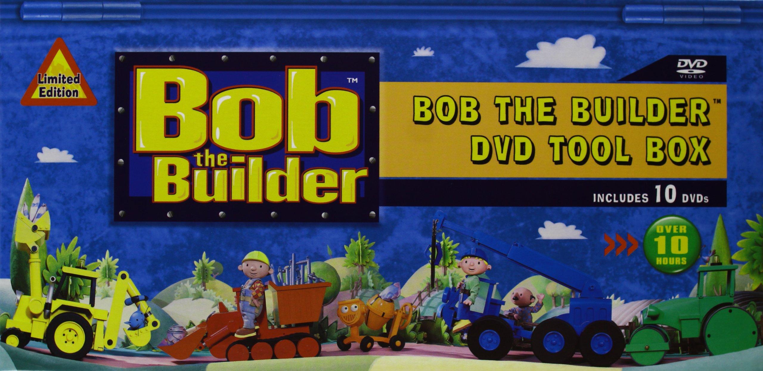 Bob The Builder Dvd Trailer Travis Dvd: Bob The Builder - DVD Tool Box Set