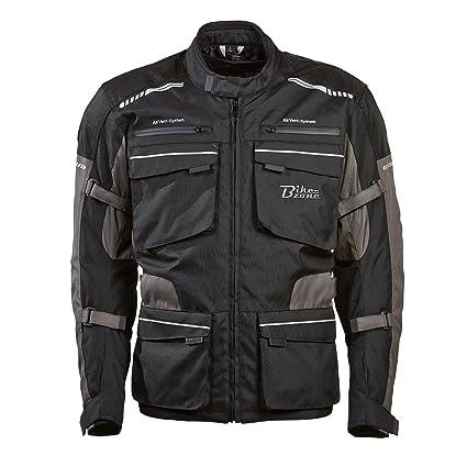 BIKEZONE 4007-50 s-m veste de moto techno multicolore taille m :