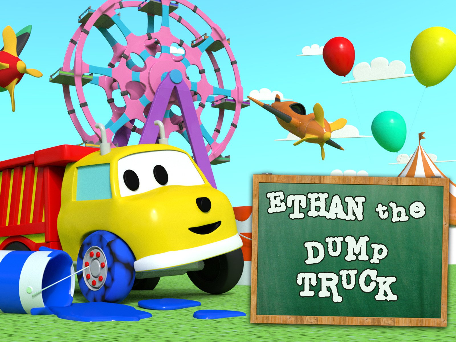 Ethan The Dump Truck - Season 2