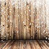 8x8 ft Light Brown Wood Floor and Wall Photo Backgrounds no Wrinkle Christmas Photography Backdrops for Wedding Seamless Backdrop (Color: wood_7, Tamaño: 8x8ft)