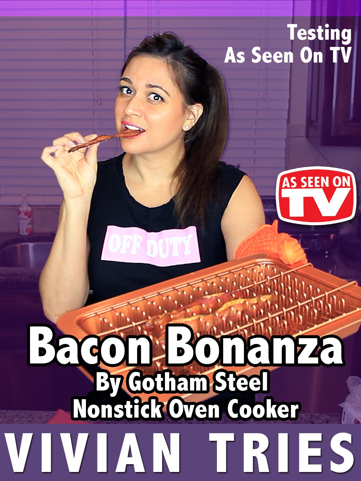 Review: Bacon Bonanza By Gotham Steel Nonstick Oven Cooker
