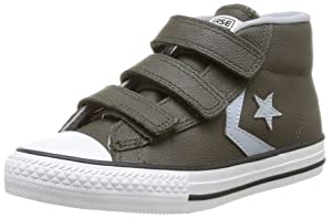 Converse Star Player 3V Leather Mid, Baskets mode mixte enfant   Commentaires en ligne plus informations