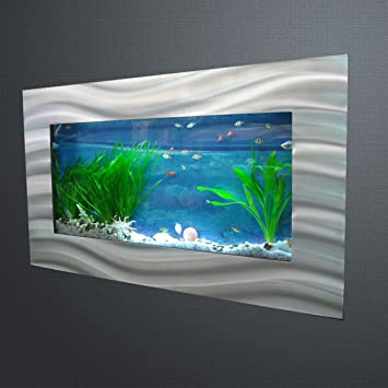 waterstyl decw 226 aquarium mural rectangulaire bross alu. Black Bedroom Furniture Sets. Home Design Ideas
