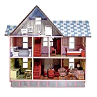 Melissa & Doug Classic Heirloom Victorian Doll House