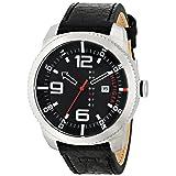 Tommy Hilfiger Men's 1791014 Analog Display Quartz Black Watch (Color: Black)