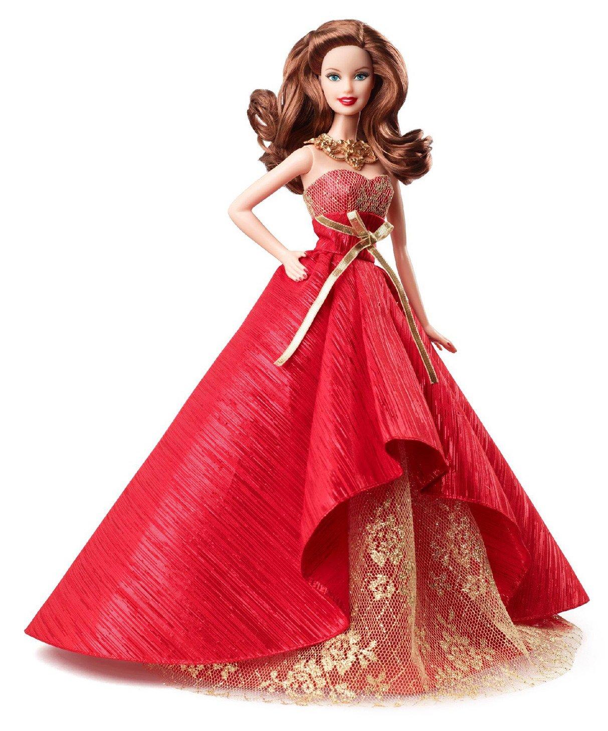 Barbie Collector 2014 Holiday Doll Brunette online kaufen
