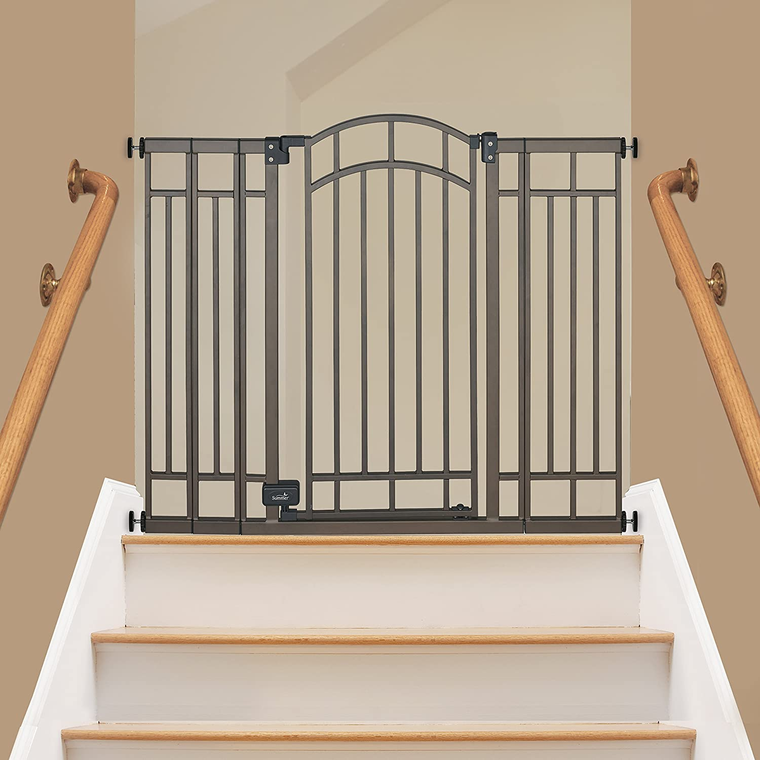 New Summer Infant Multi Use Deco Extra Tall Walk Thru Gate