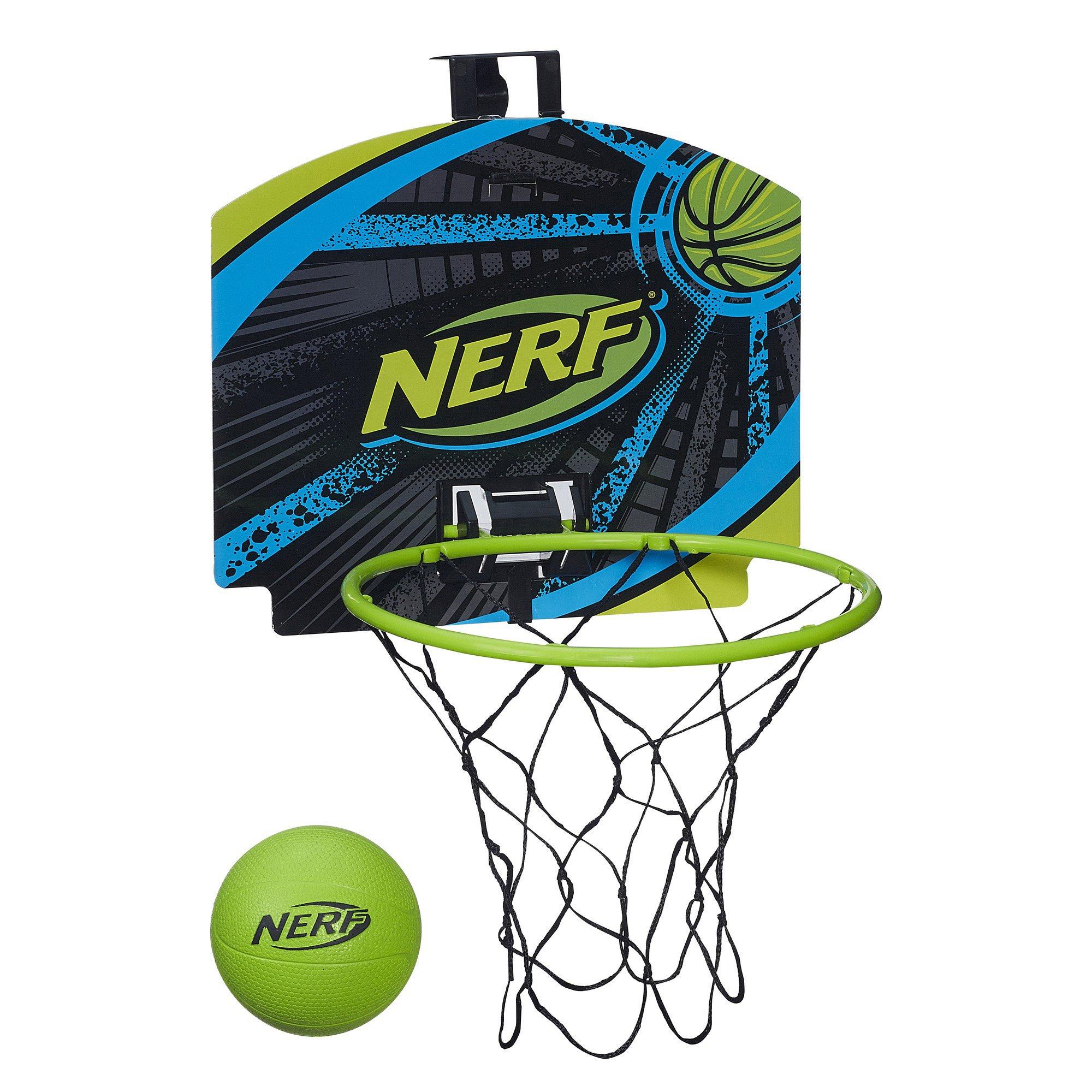 Nerf Sports Nerfoop Set Toy Kids Fun Basketball Game Hoop ...
