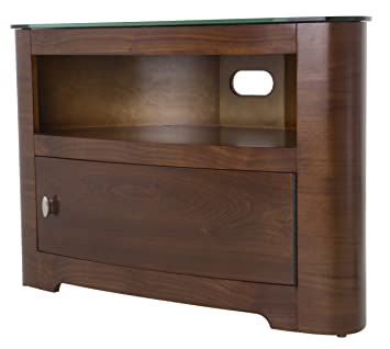 AVF FS800BLEW-A Blenheim - TV Stand with Single Cabinet Door - 800 - Walnut