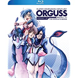 Super Dimension Century Orguss TV Series [Blu-ray]