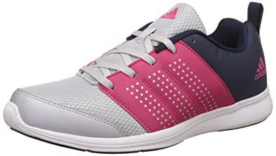adidas Women's Adispree W Metsil, Vivber and Conavy Running Shoes 4 UKIndia