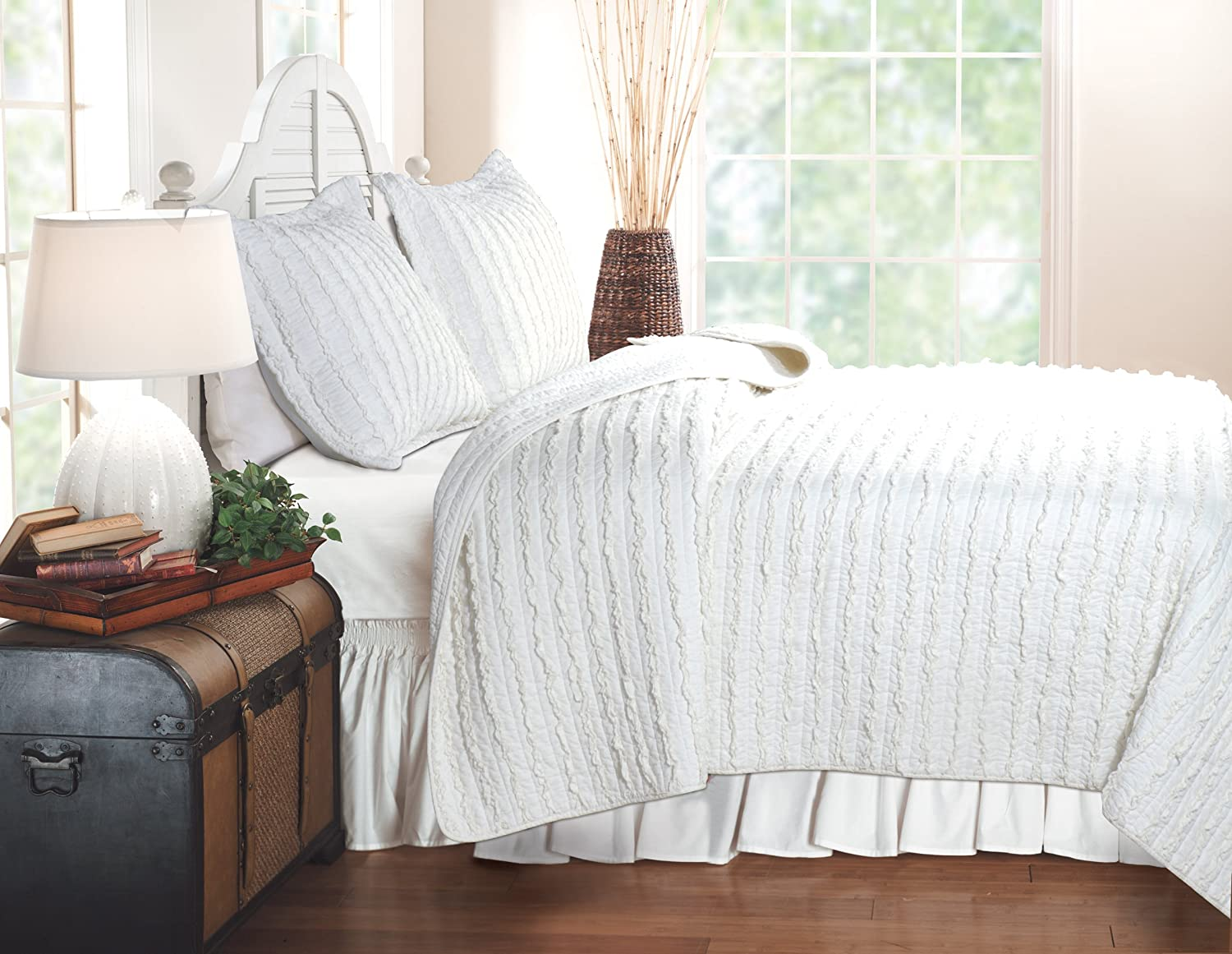 Ruffled Bedding Is Frilly And Feminine Webnuggetz Com