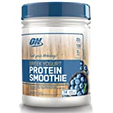 Optimum Nutrition On Greek Yogurt 14 Servings Protein Smoothie, Blueberry, 1.02 Pound (Color: Blueberry, Tamaño: 14 servings)
