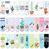 30 Pieces Magnet Magnetic Bookmarks Cute Magnet Page Markers Page Clips Bookmark for Student Office Reading Stationery (Plant) (Color: Plant)