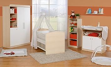 Roba 55401 Kinderzimmer-Set Lena, ahorn/weiß