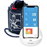 iHealth Ease Wireless Upper Arm Blood Pressure Monitor for Apple and Android with Adult/Large Cuff (11.8-16.5 Inch Circumference) (Tamaño: large)